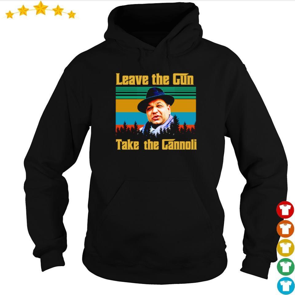 Leave the Gun take the Gannoli vintage s hoodie