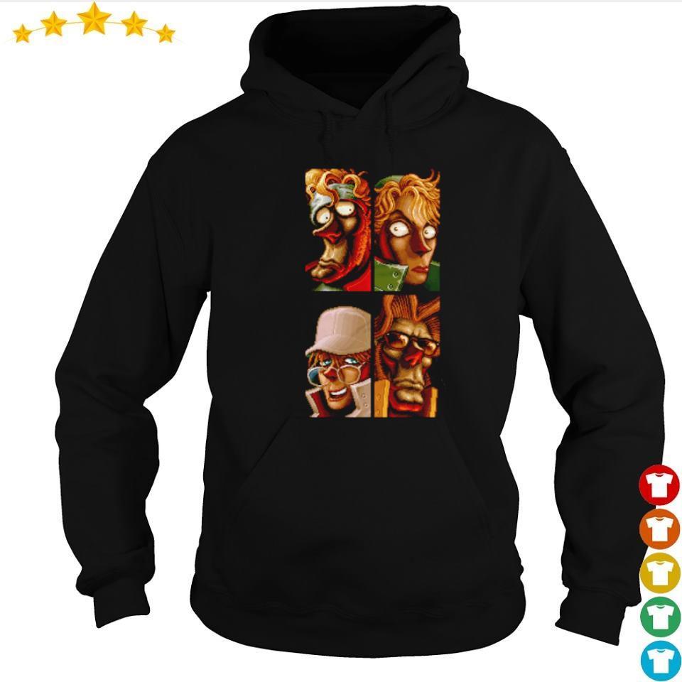 Metal Slug 2 Runners and Gunners s hoodie