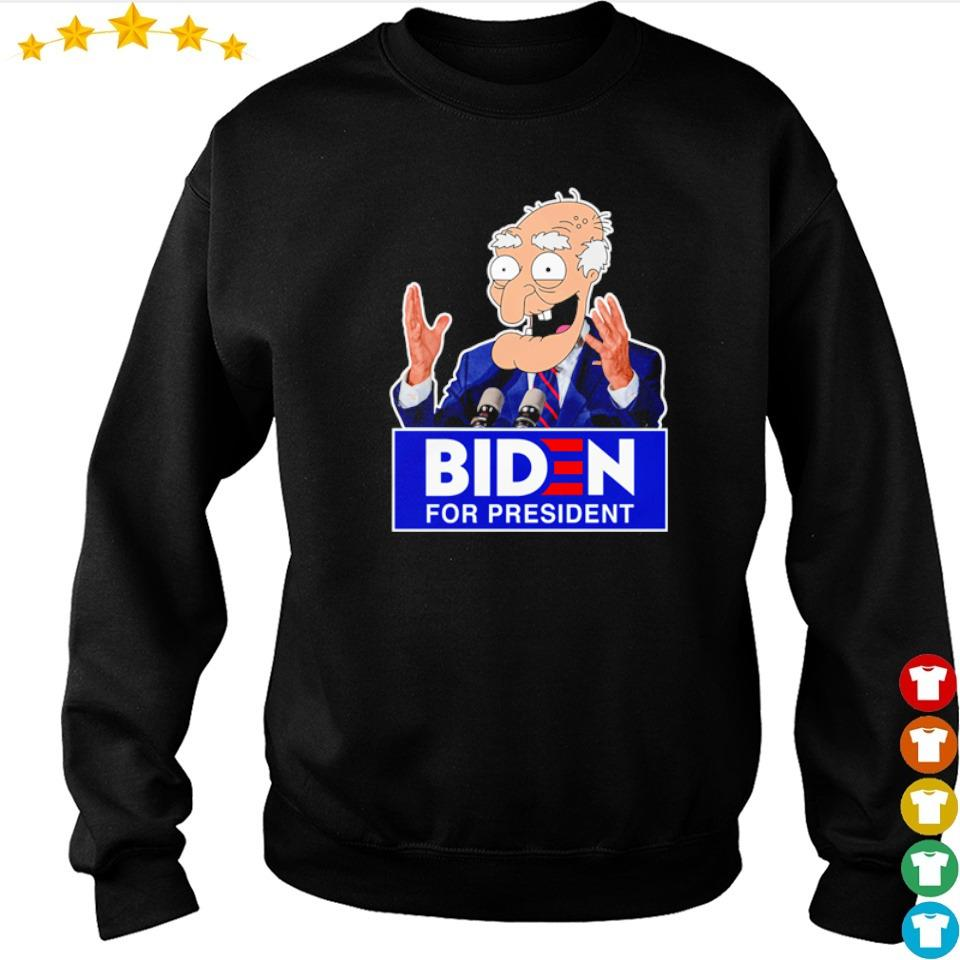 Old Biden for president s sweater