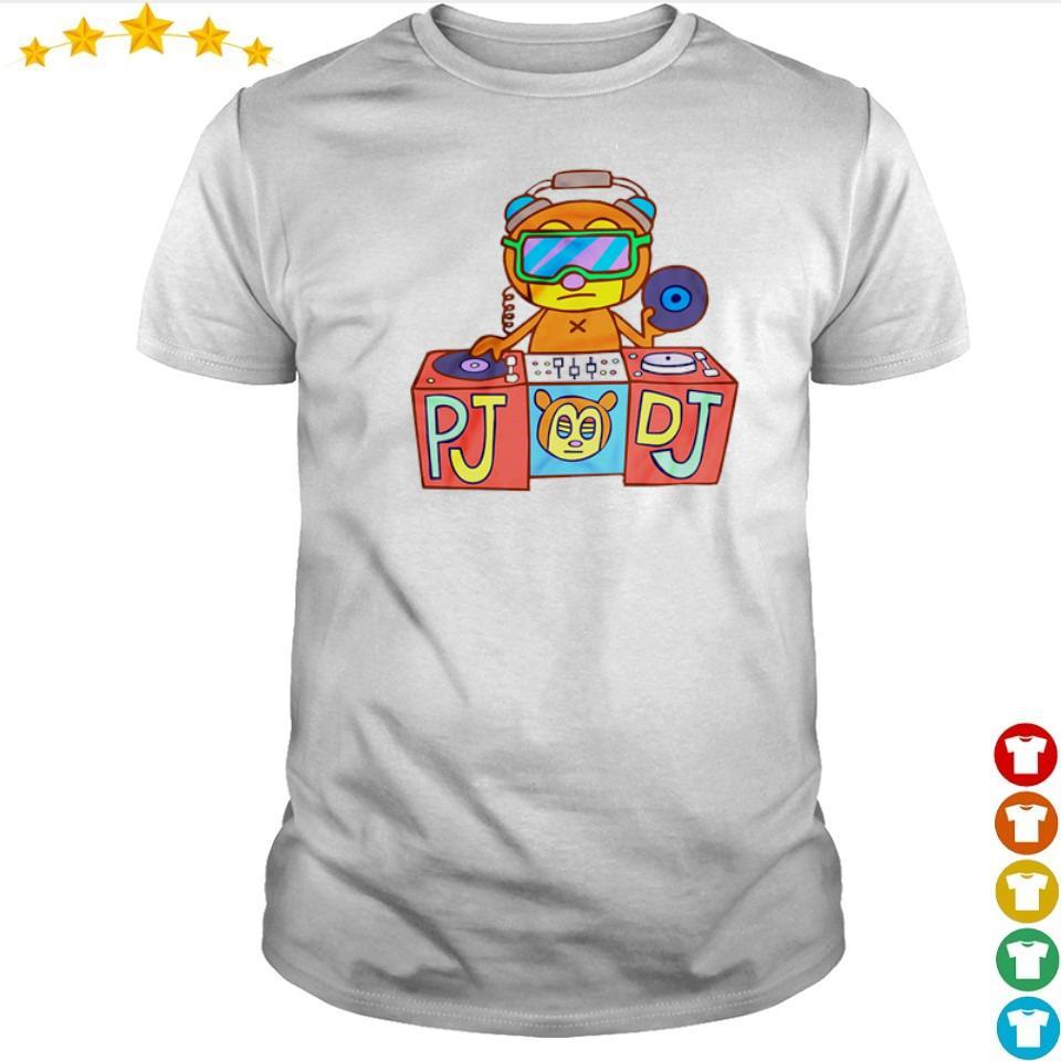 PaRappa the Rapper PJ DJ shirt