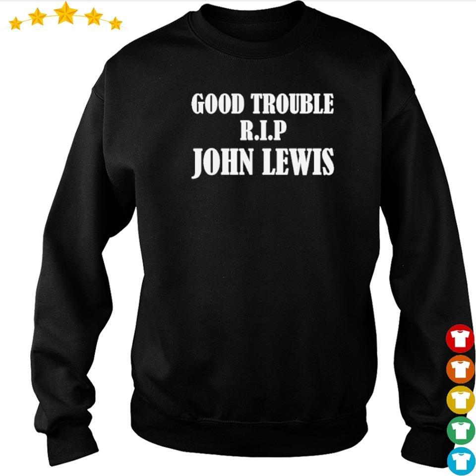 RIP John Lewis good trouble s sweater