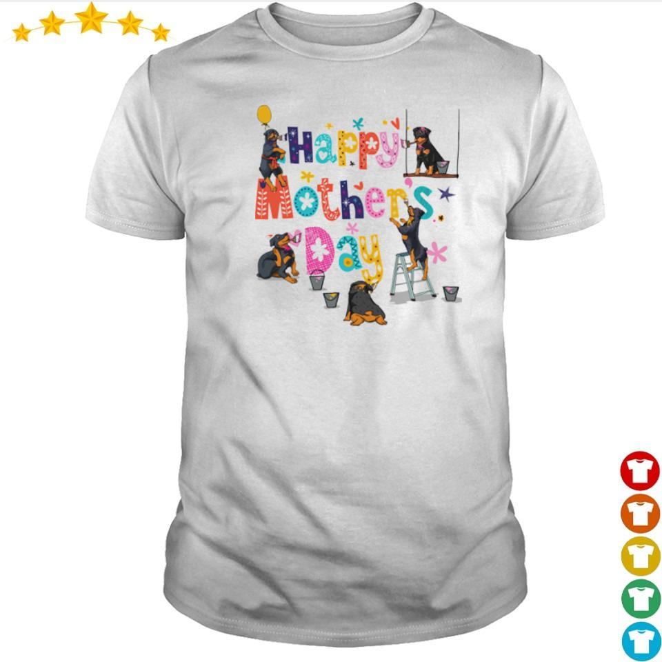 Rottweiler Happy Mother's Day shirt