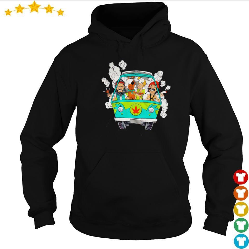 Scooby-Doo and Friends chilling in minivan s hoodie