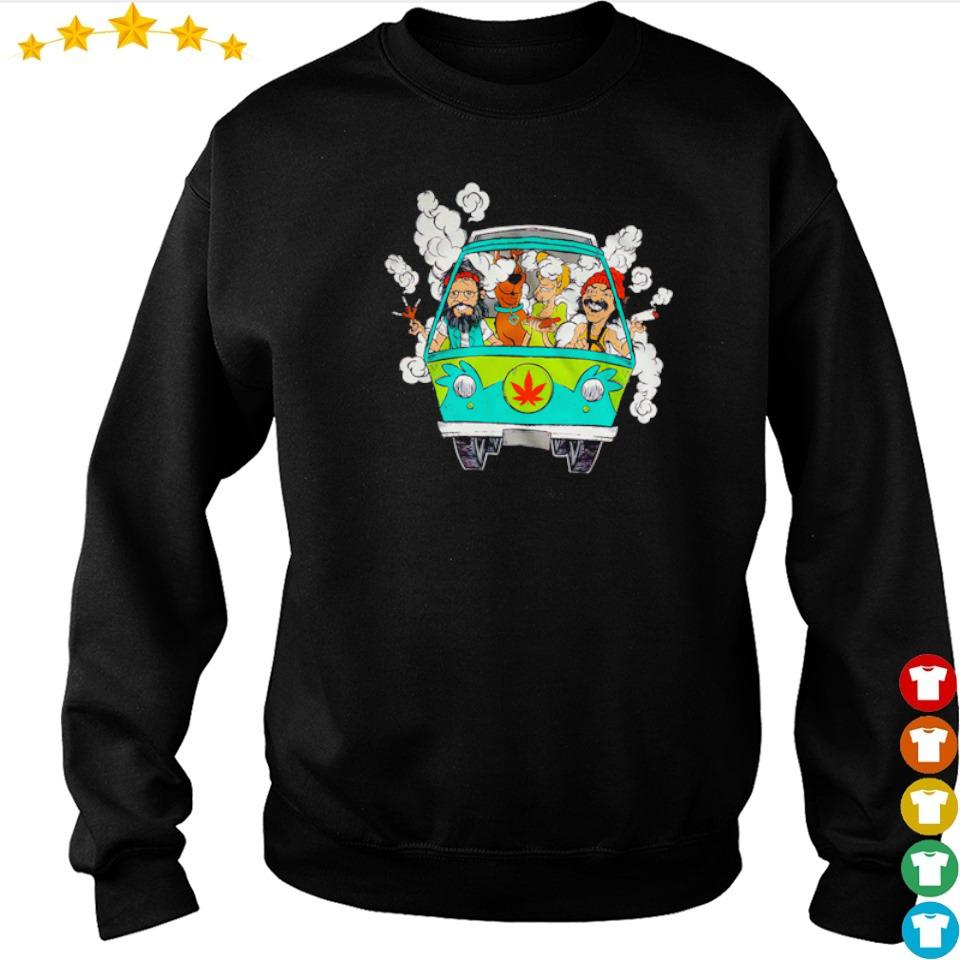 Scooby-Doo and Friends chilling in minivan s sweater