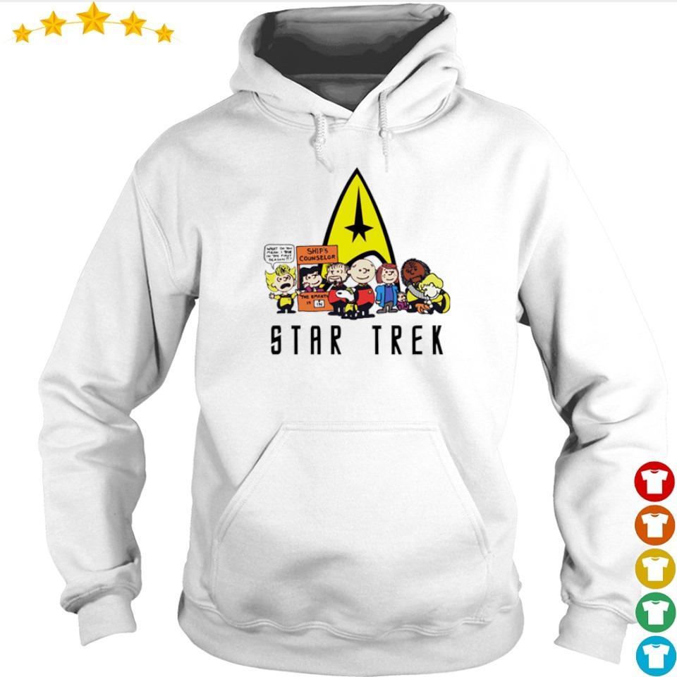Snoopy and Friends Star Trek s hoodie