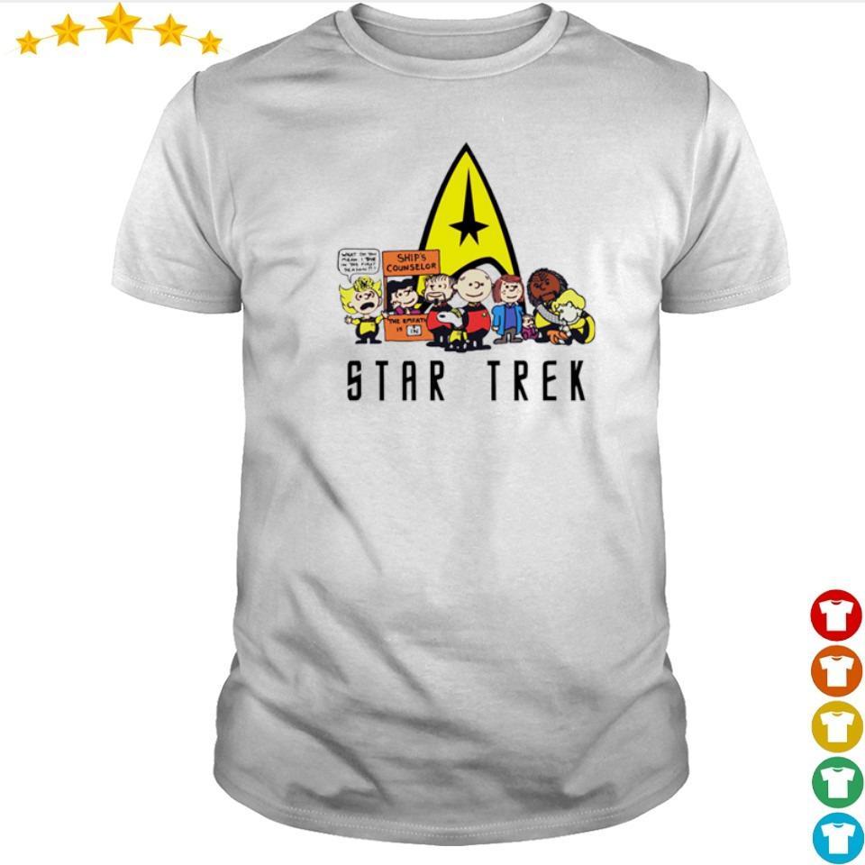 Snoopy and Friends Star Trek shirt