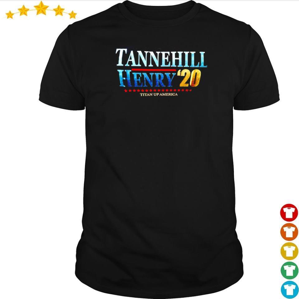 Tannehill Henry '20 Titan Up America shirt