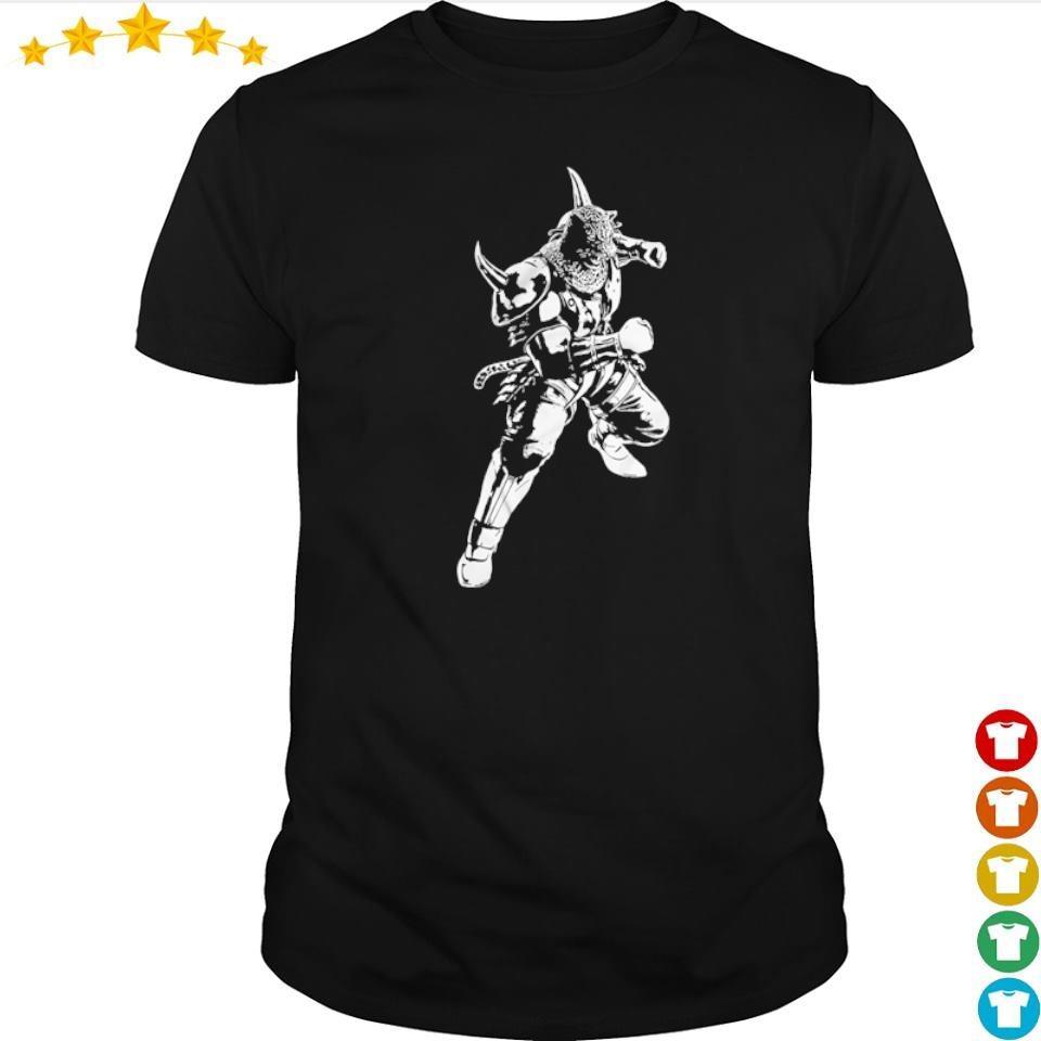 Tekken's Armor King Wicked Flower shirt