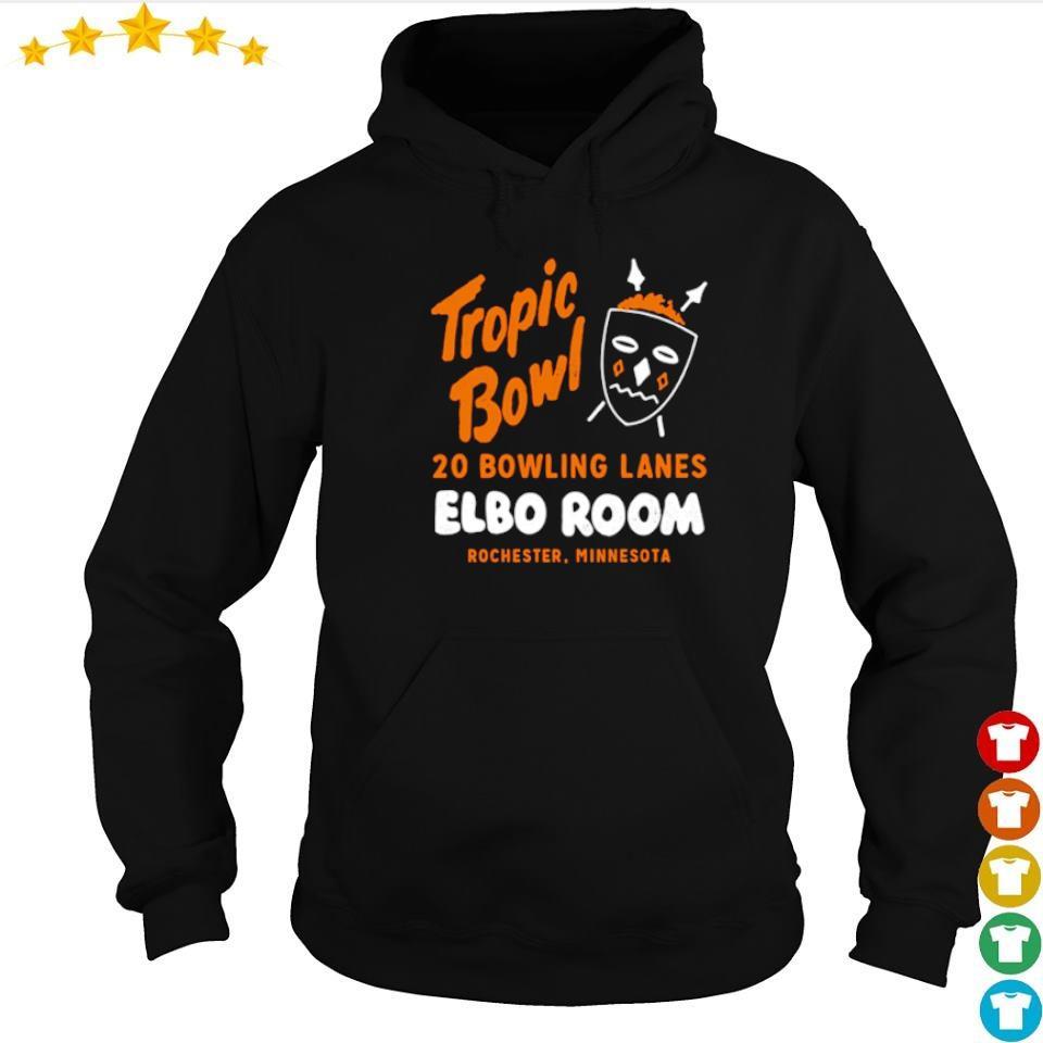 Tropic Bowl 20 bowling lans Elbo Room Rochester Minnesota s hoodie