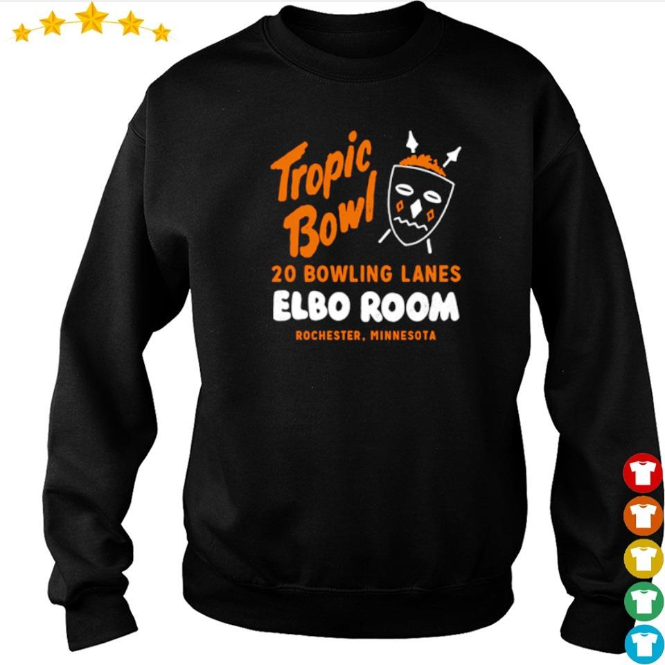 Tropic Bowl 20 bowling lans Elbo Room Rochester Minnesota s sweater