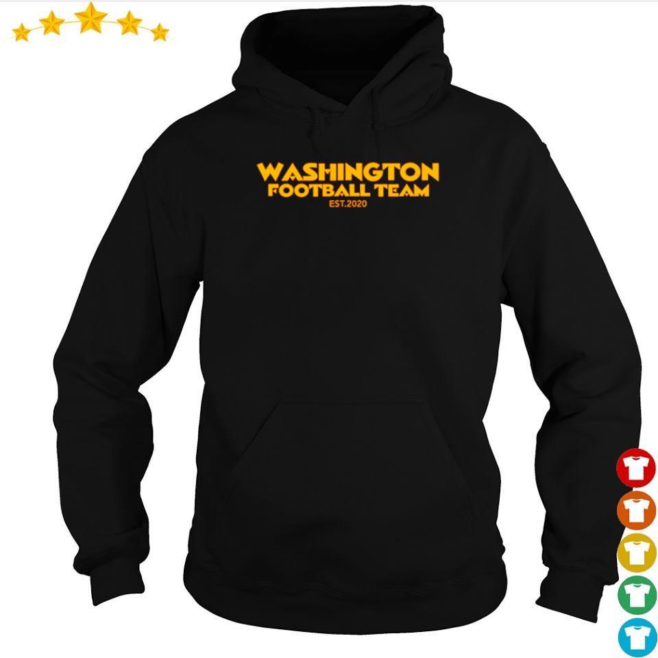 Washington Footbal Team EST 2020 s hoodie