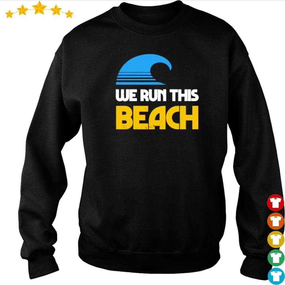 We run this beach s sweater