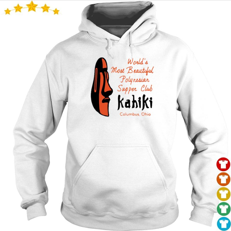 World's most beautiful polynesian supper club Kahiki Columbus Ohio s hoodie