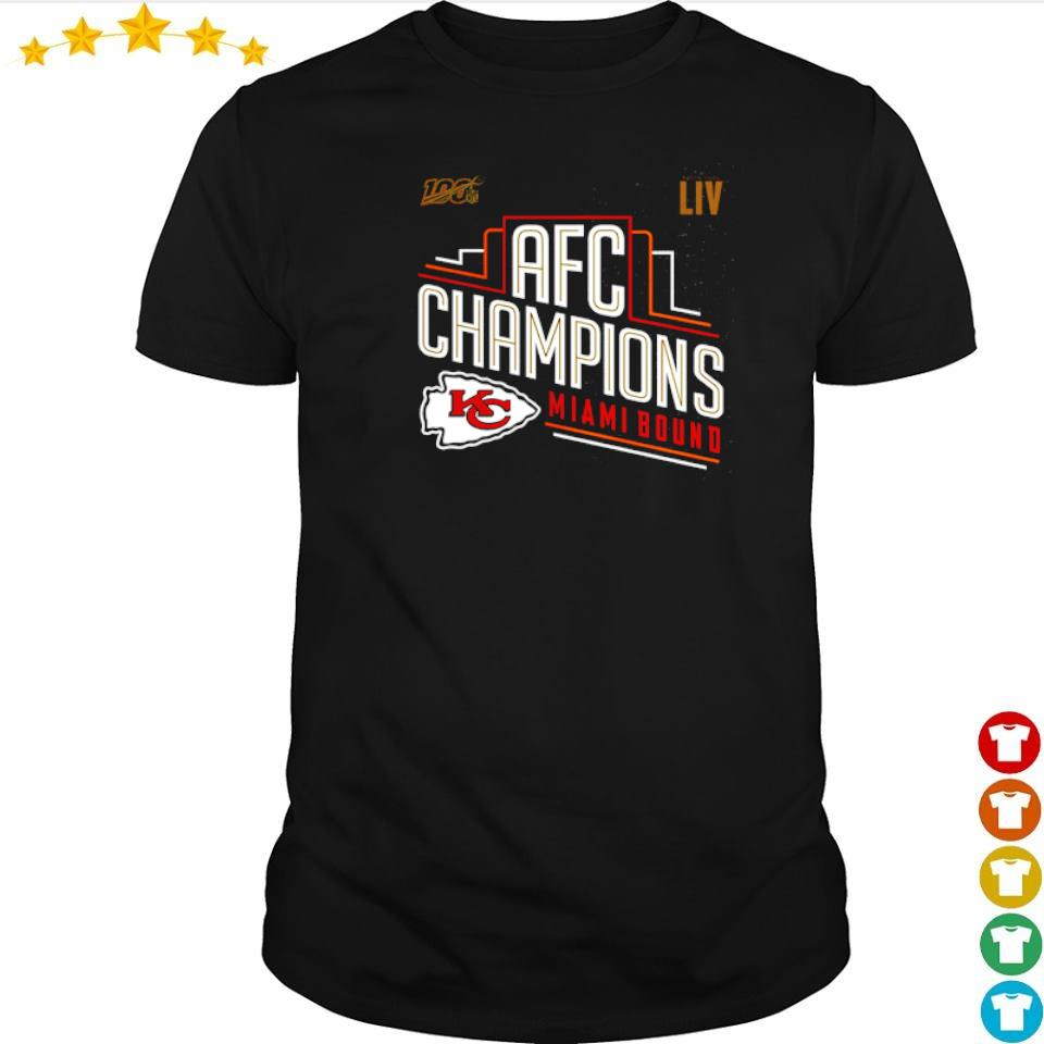 100% LIV AFC Champions Miami Bound shirt