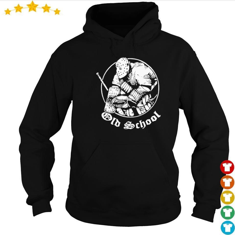 Hockey horror Jason Voorhees old school s hoodie