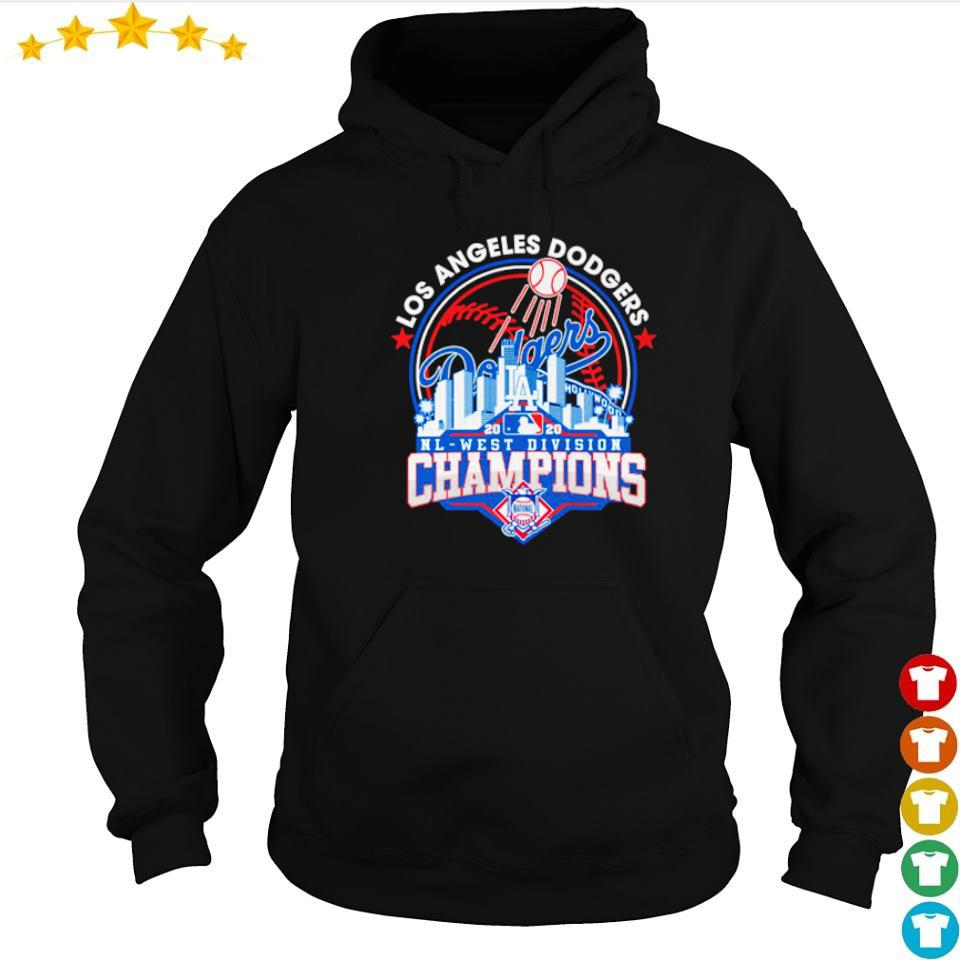 Los Angeles Dodgers NL west division champions s hoodie