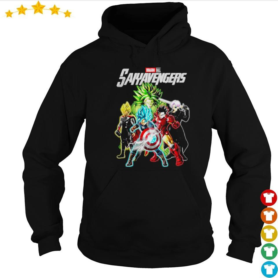 Marvel Studio Dragon Ball Saiyavenger s hoodie