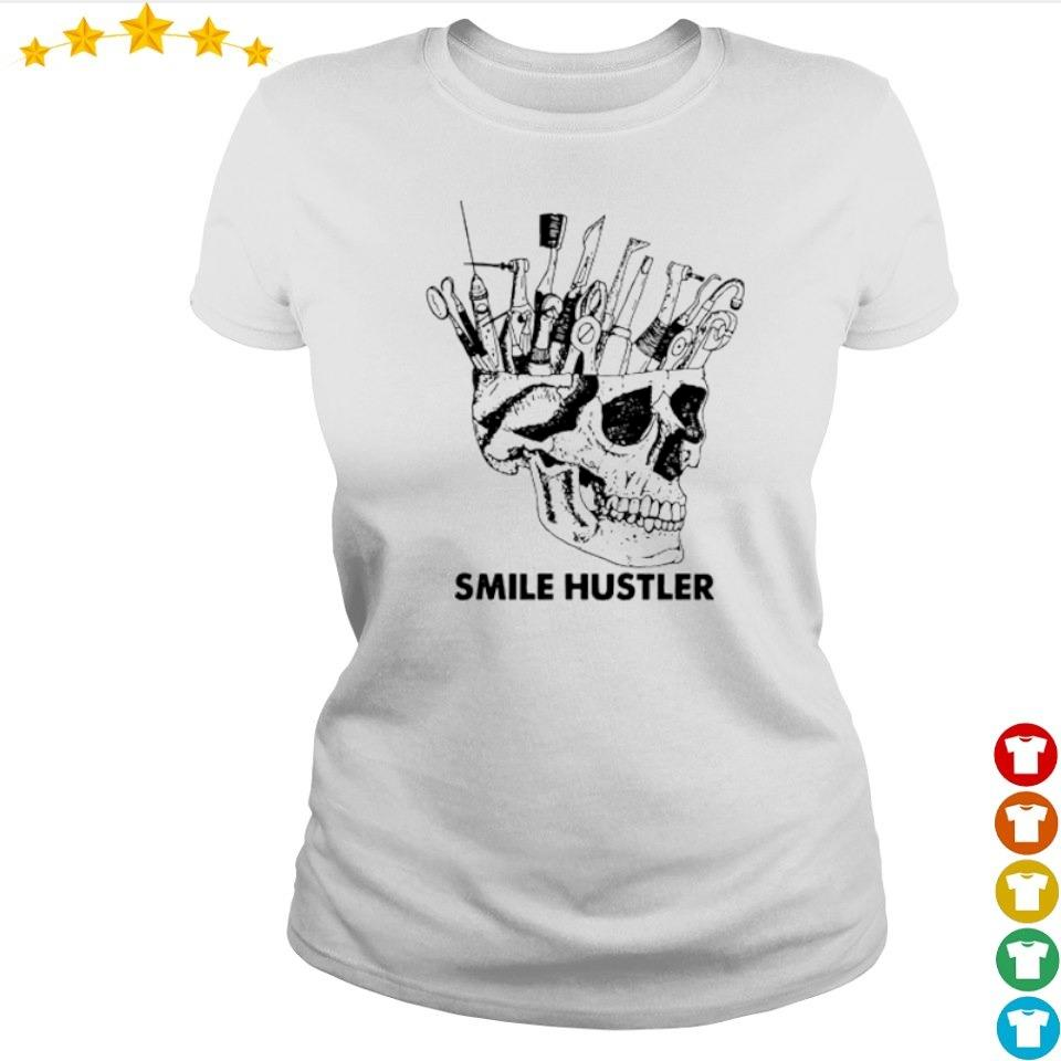 Official broken skull smile hustler s ladies