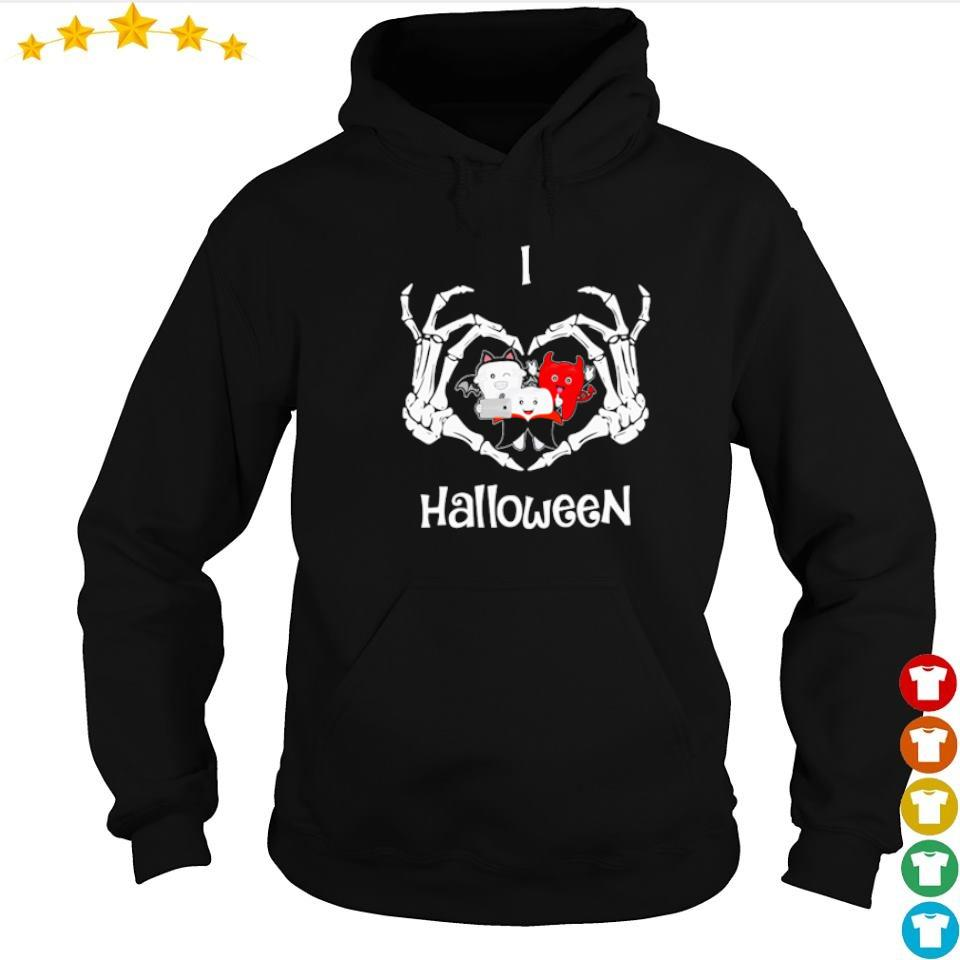 Official dental I love Halloween s hoodie