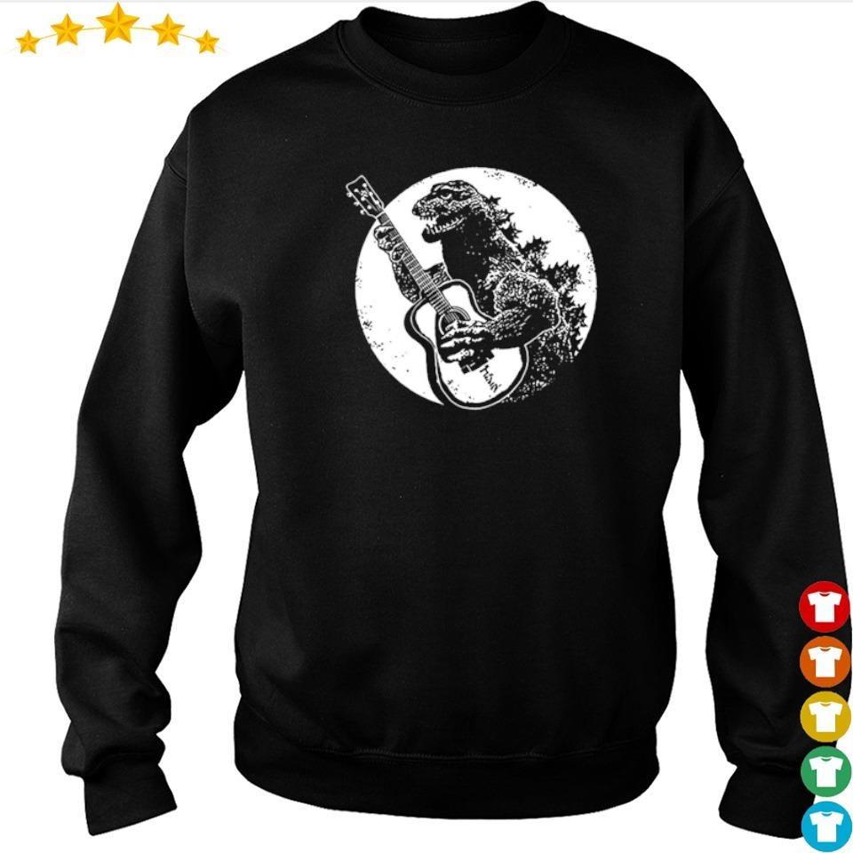 Official Guitarzilla in Godzilla s sweater