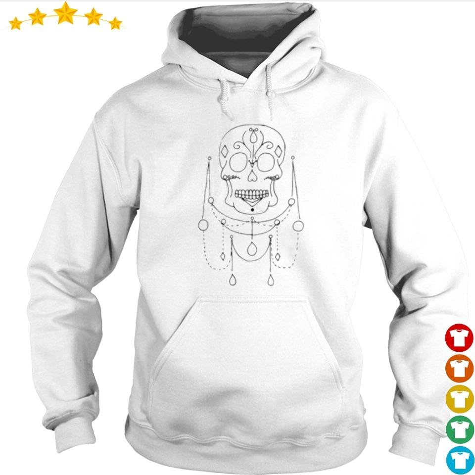 Skull Jewels Day Of The Dead s hoodie