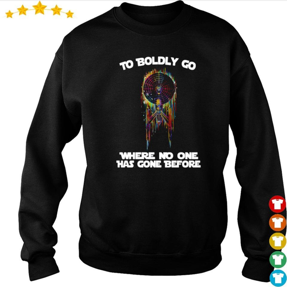 Star Trek to boldly go where no one has gone before s sweater