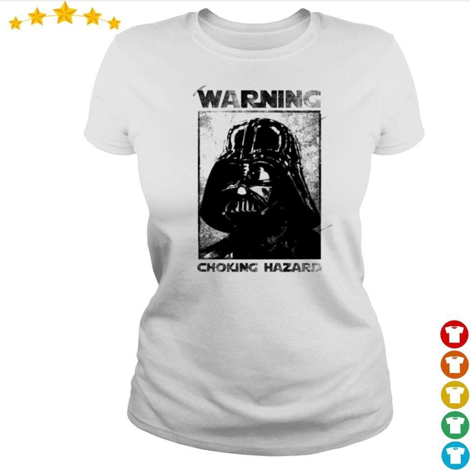 Star Wars Darth Vader warning choking hazaed s ladies