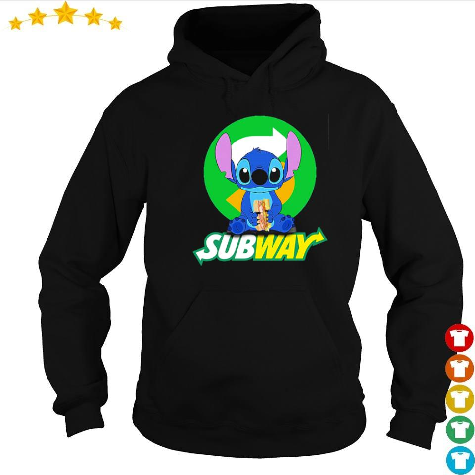 Stitch love SubWay s hoodie