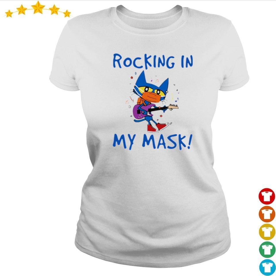 Teacher Rocking in my mask s ladies