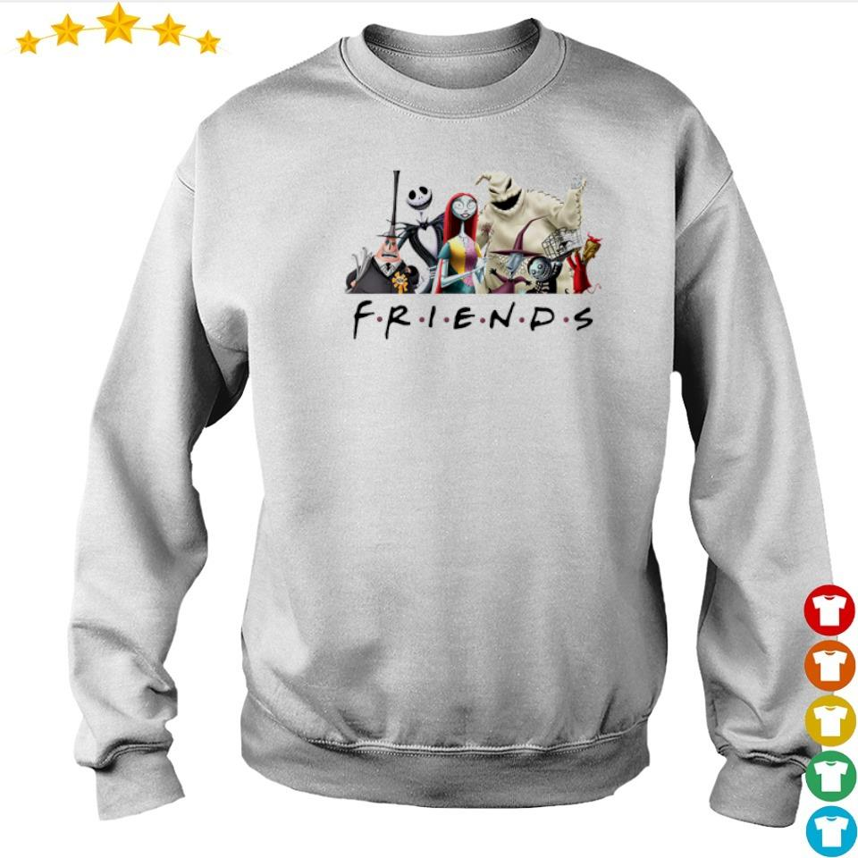 The Nightmare Before Christmas Friends TV Show s sweater