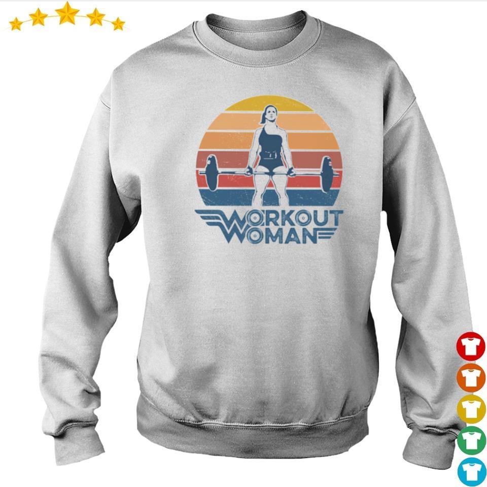 Wonder Woman workout woman vintage s sweater