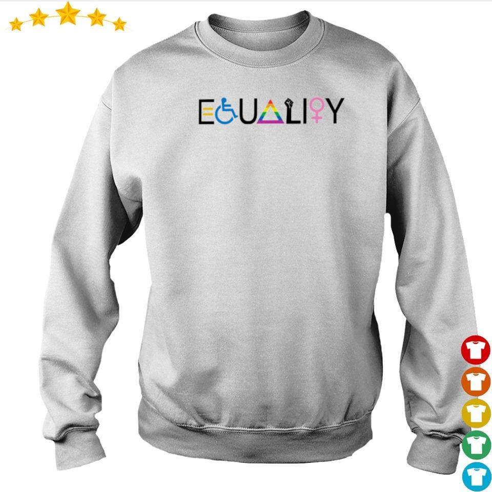 World Equality Symbol s sweater