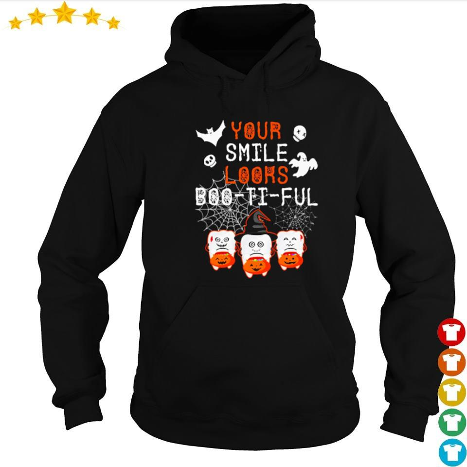 Your smile looks boo it ful happy Halloween s hoodie