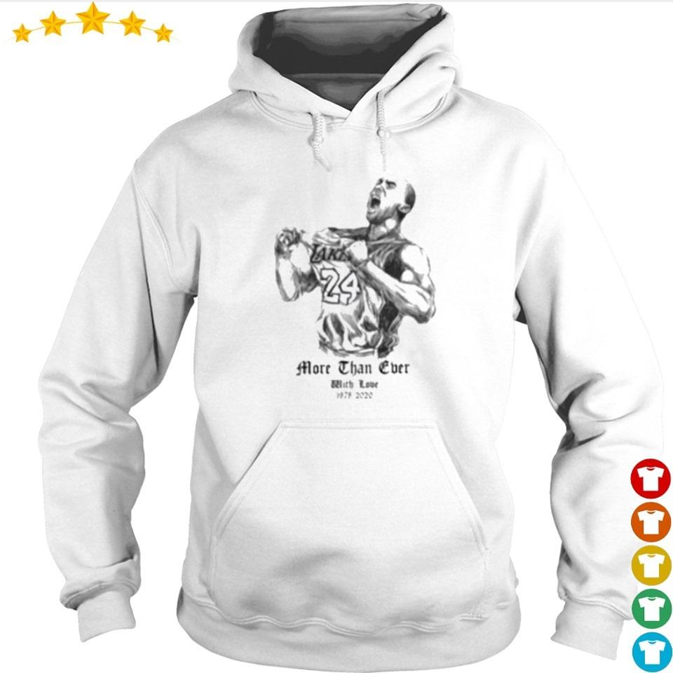 2020 Kobe Bryant more than ever with love 1979 2020 s hoodie
