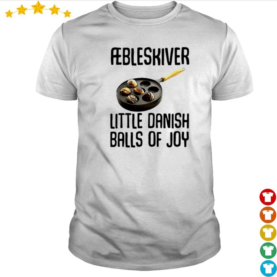 Aebleskiver little danish balls of joy shirt