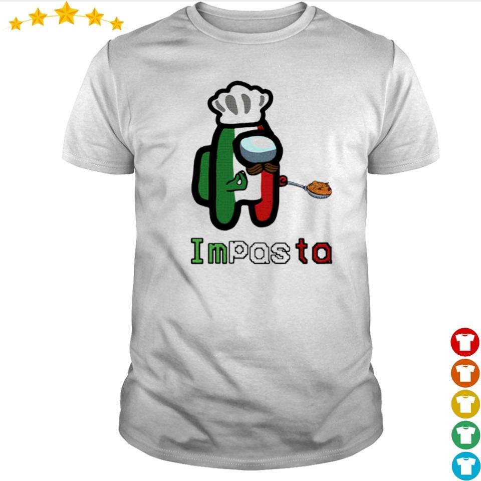 Among us impasta impostor shirt