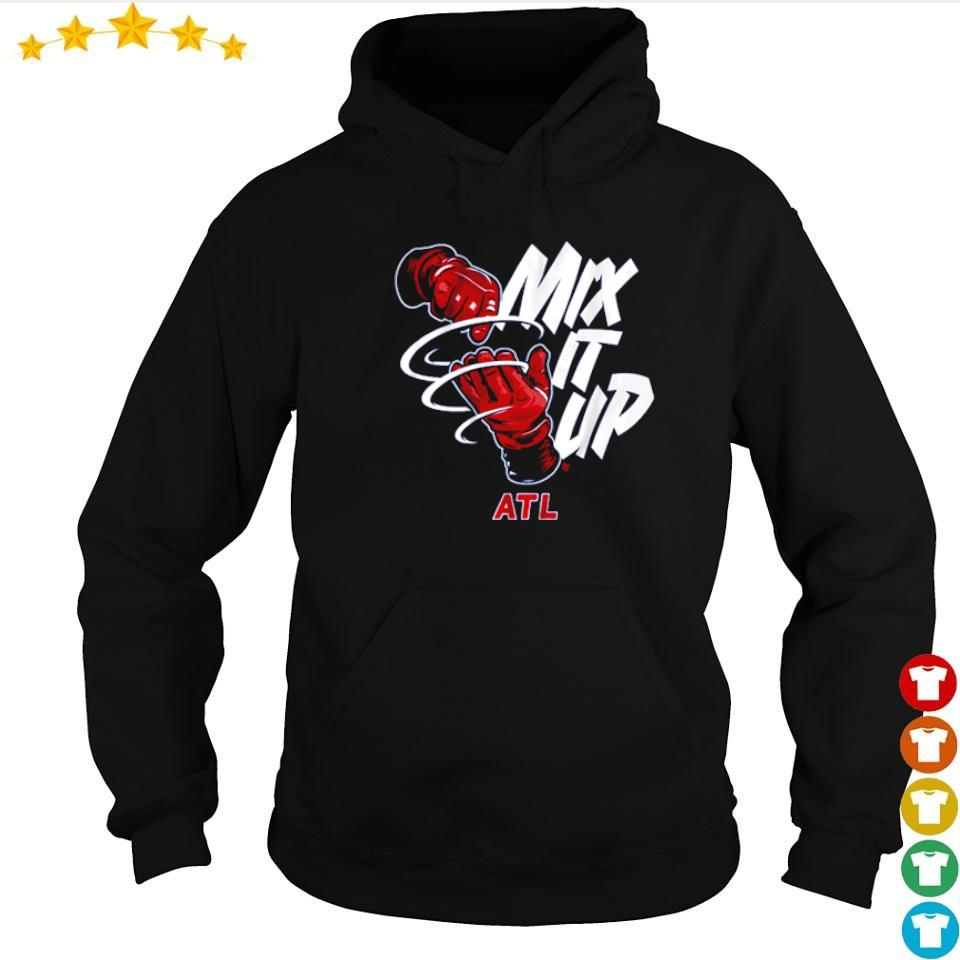 Atlanta Braves Baseball mix it up ATL s hoodie