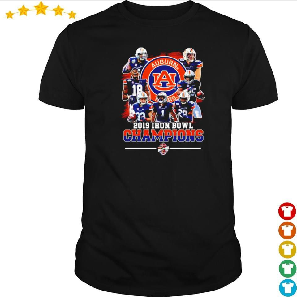 Auburn Tigers 2019 Iron Bowl Champions shirt
