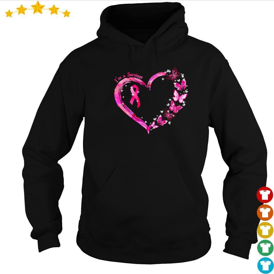 Autism awareness I'm a survivor love s hoodie