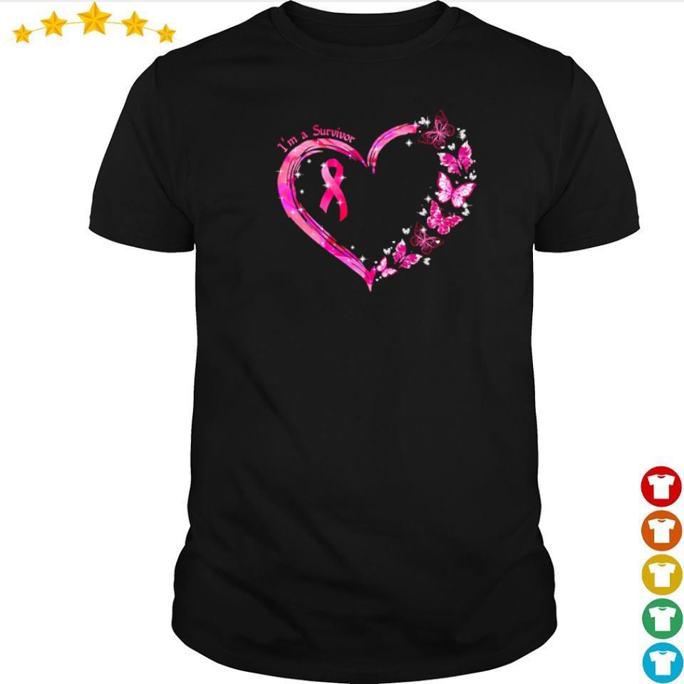 Autism awareness I'm a survivor love shirt
