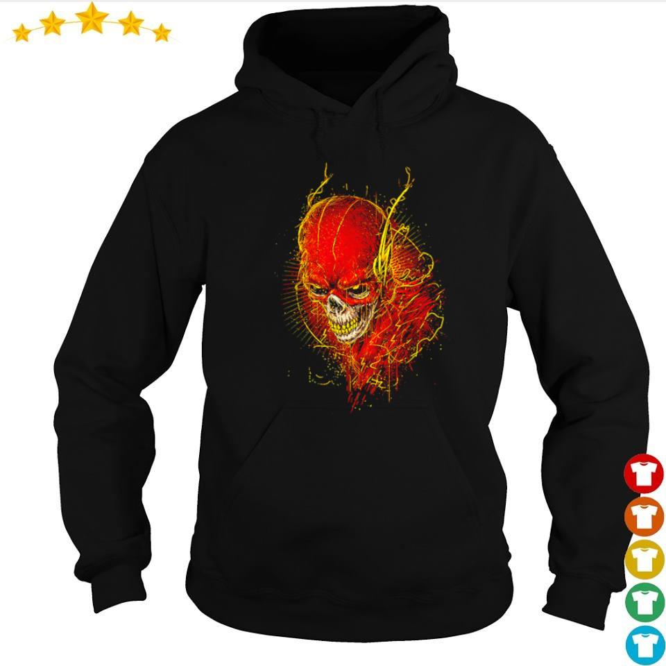 Awesome Flash skull s hoodie