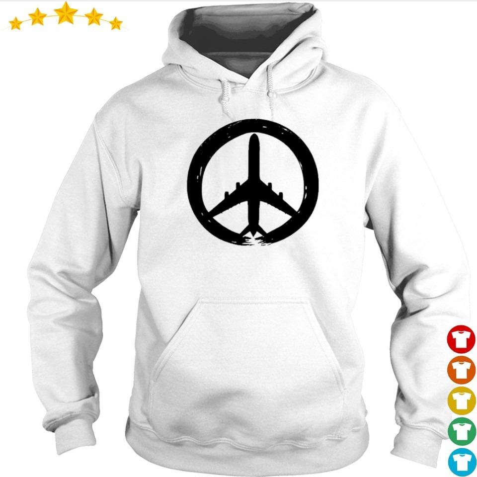 Awesome hippie logo plane s hoodie