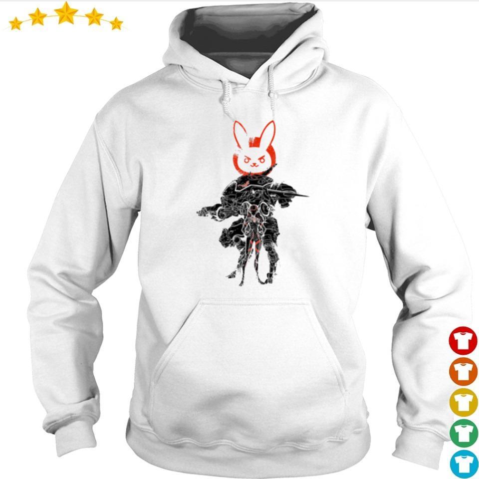 Awesome Overwatch Dva and mecha s hoodie