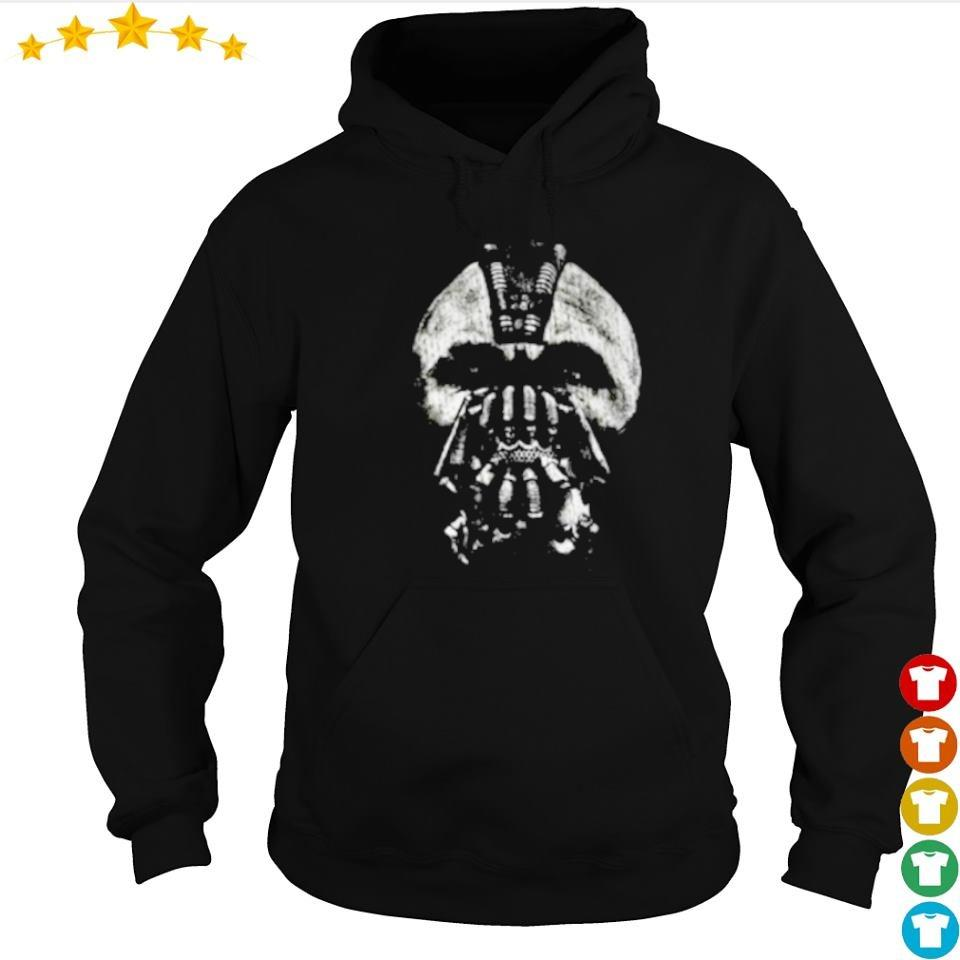 Awesome The Dark Night Bane mask art s hoodie