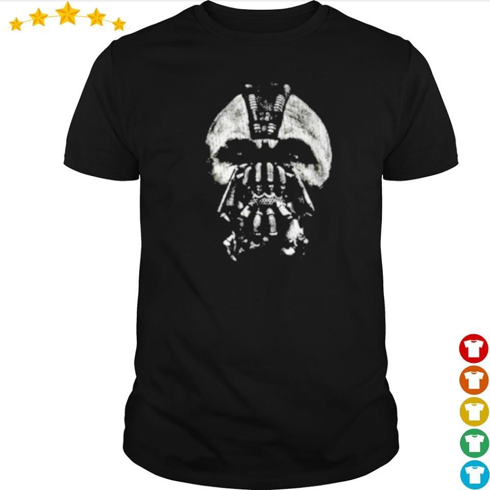 Awesome The Dark Night Bane mask art shirt