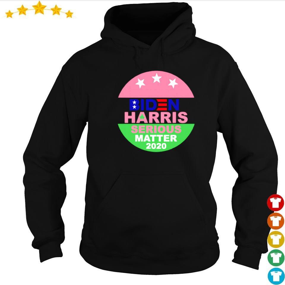 Biden Harris serious matter 2020 s hoodie