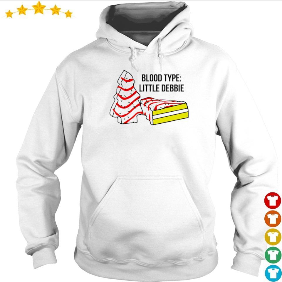 Cake dead blood type little debbie s hoodie