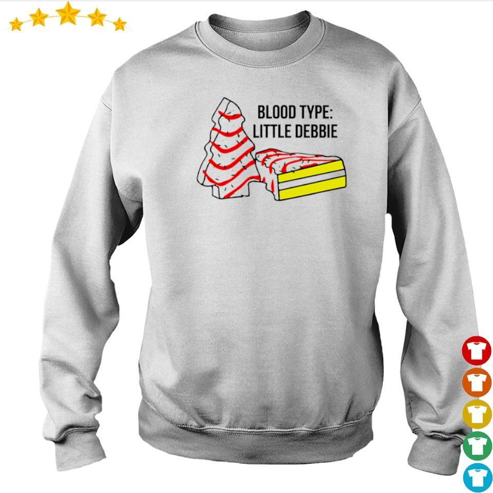 Cake dead blood type little debbie s sweater