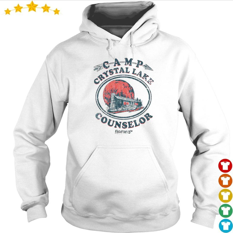 Camp crystal lake counselor Friday the 13th s hoodie