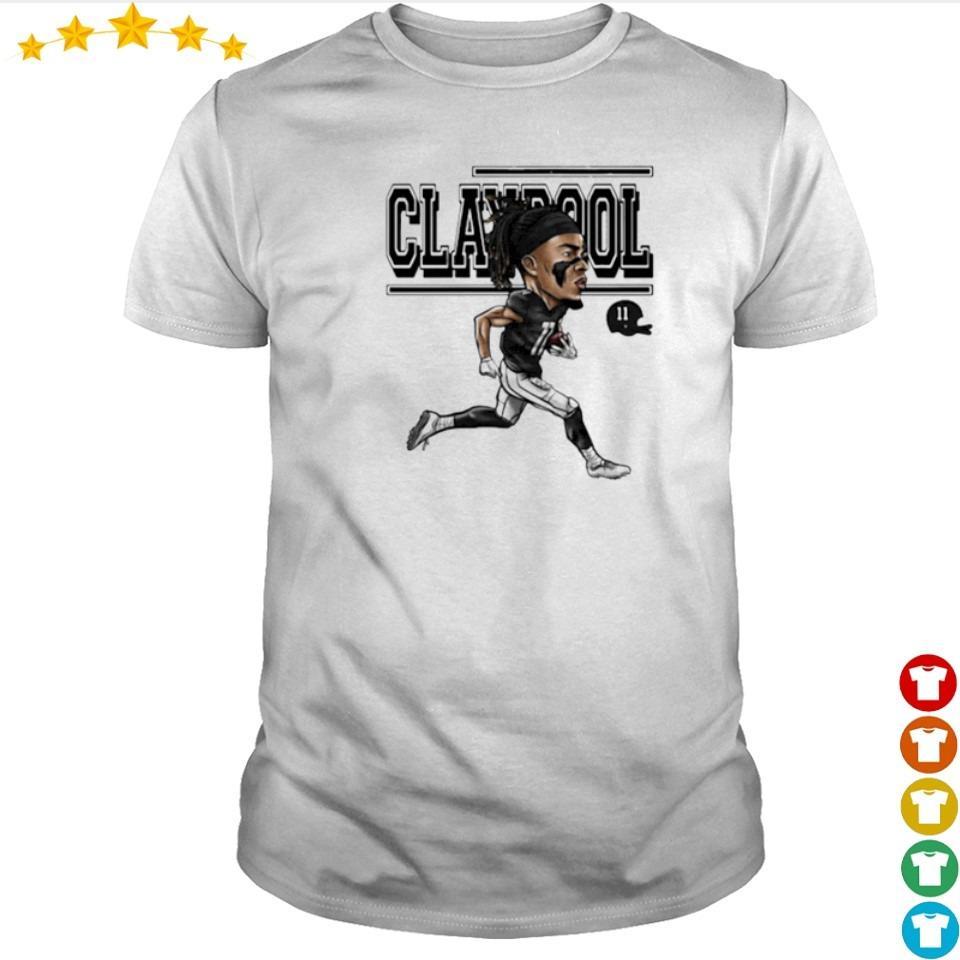 Chase Claypool running signature shirt